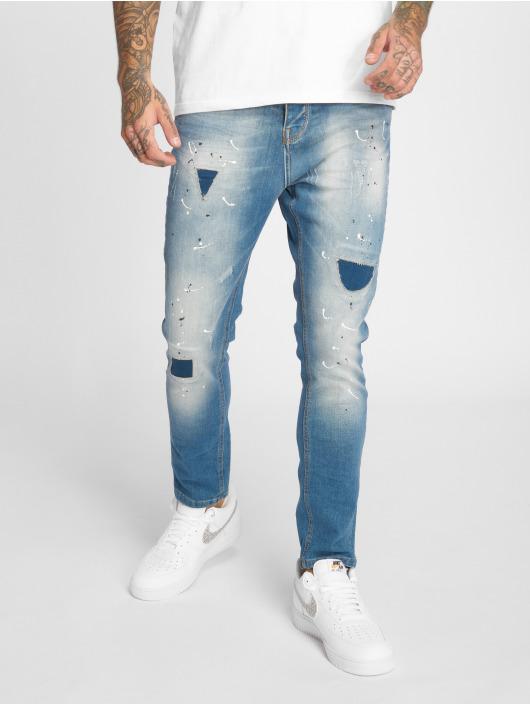 2Y Jean slim Carlo bleu