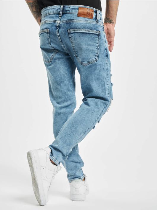 2Y Jean slim Dave bleu