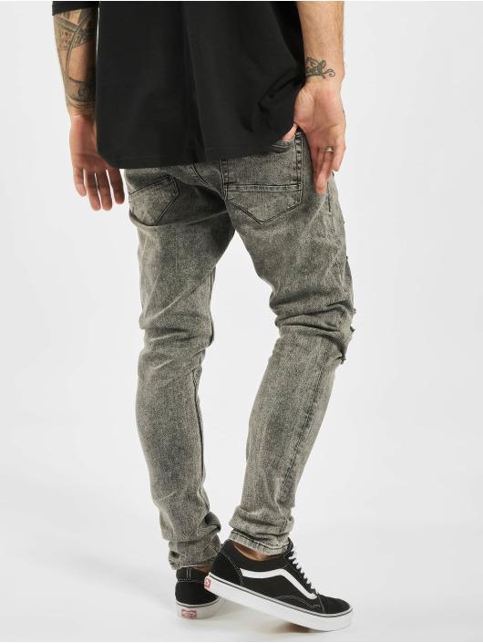 2Y Jean slim Samuel gris