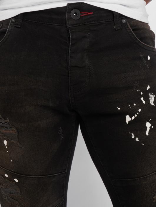 2Y Jean slim Aleo noir