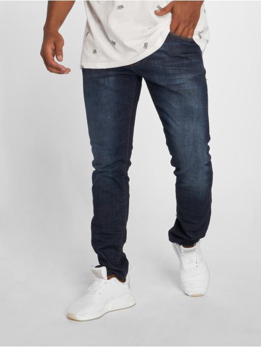 2Y Jeans ajustado Corrdo azul