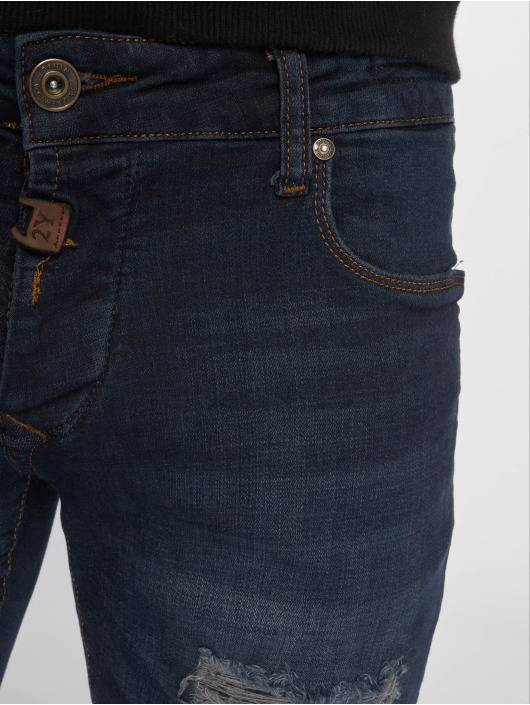 2Y Jeans ajustado Jon azul