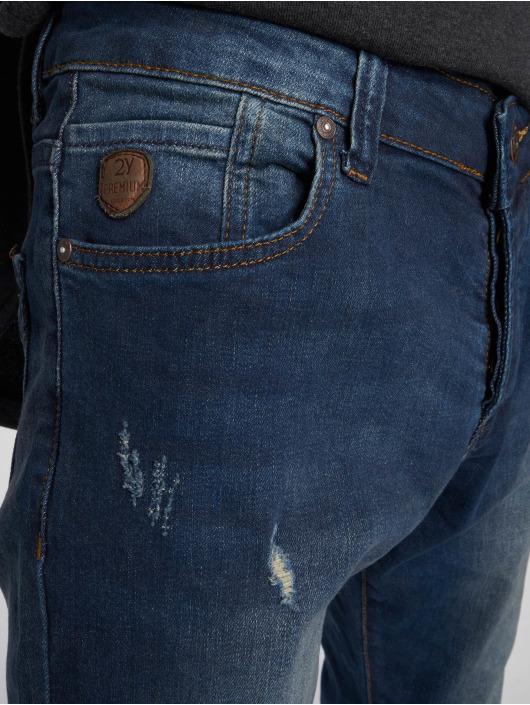 2Y Jeans ajustado Len azul