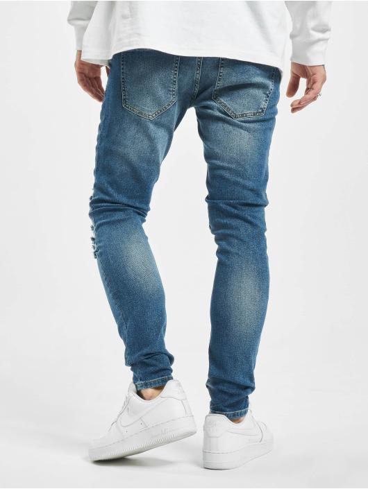 2Y Jeans ajustado Azem azul