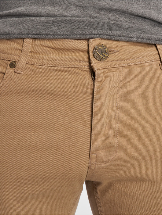 2Y Jeans ajustado ClassicoDark beis