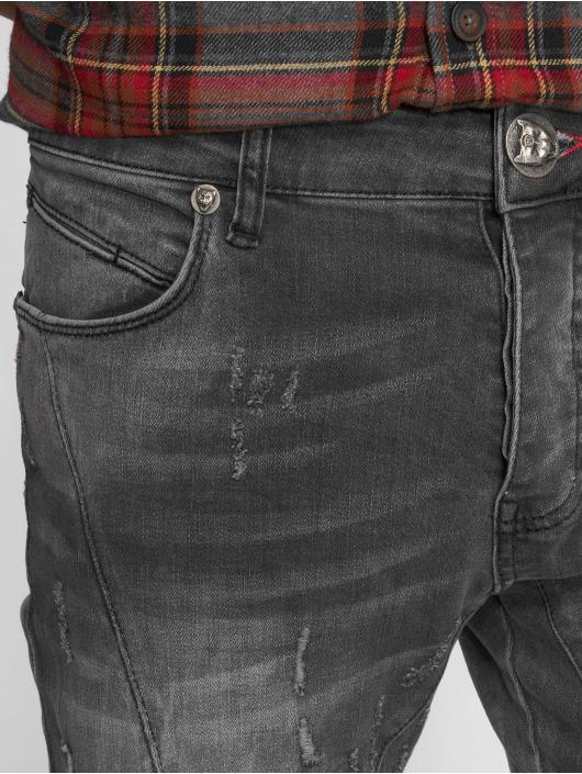 2Y Jeans ajustado Polles gris
