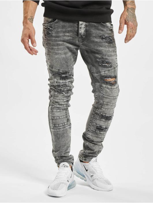 2Y Jeans ajustado Critic gris