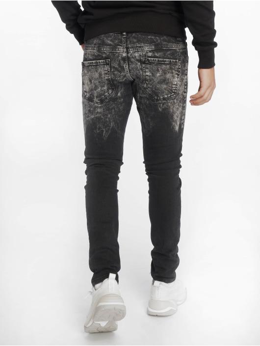 2Y Jeans ajustado Wyatt negro