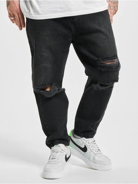 2Y Jeans ajustado Doran negro