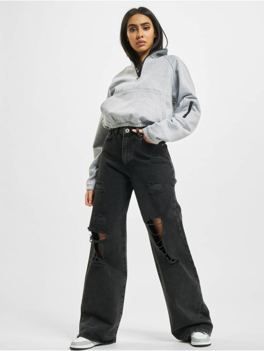 2Y Jeans larghi Tala nero
