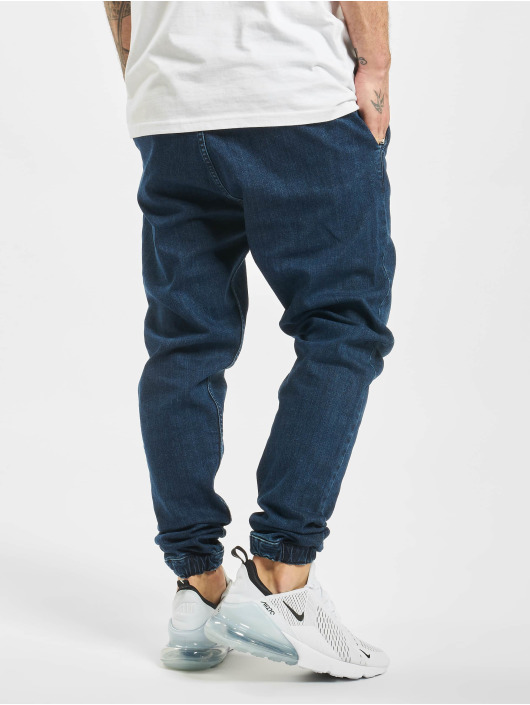 2Y joggingbroek Denim blauw