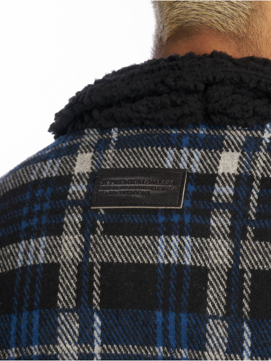 2Y Lightweight Jacket Lumberjack blue