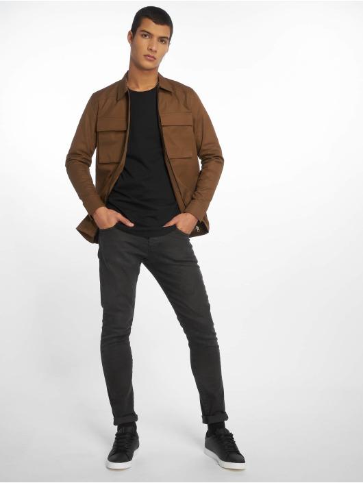 2Y Lightweight Jacket Ivory brown