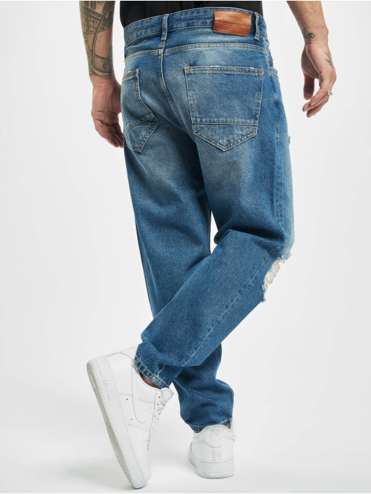 2Y Loose fit jeans Gustav blauw