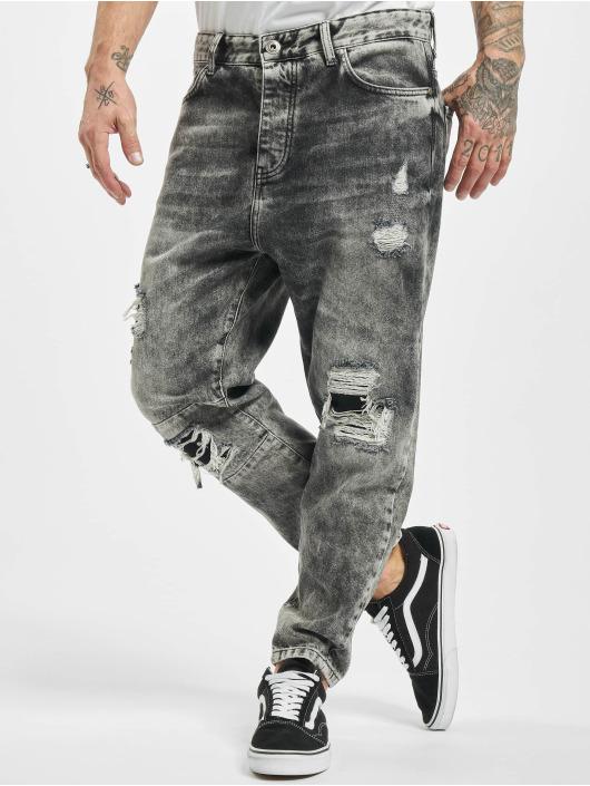 2Y Loose Fit Jeans Heinz grau