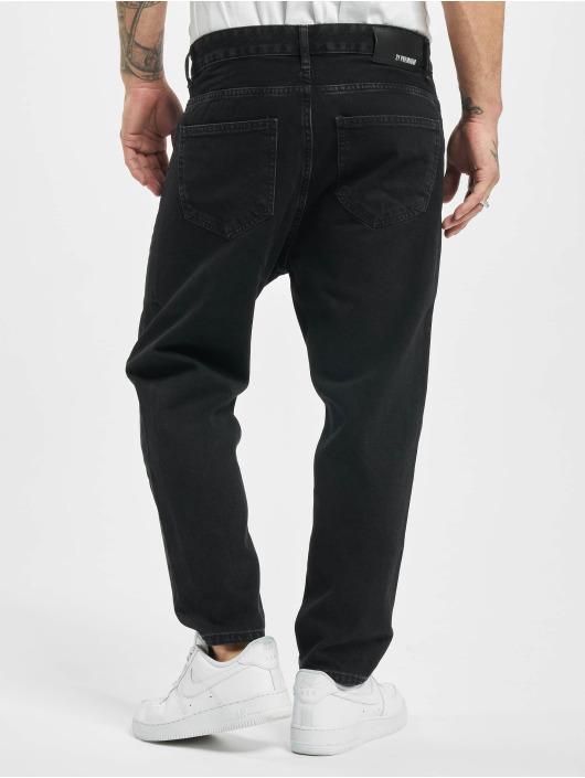 2Y Loose Fit Jeans Dean schwarz