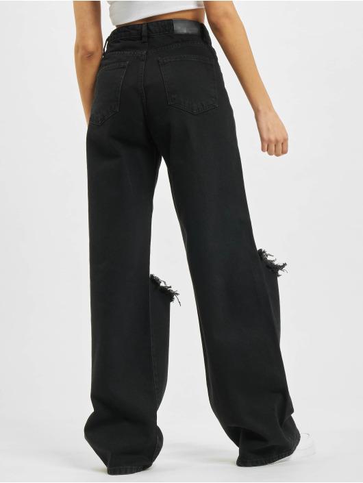 2Y Loose fit jeans Romy svart