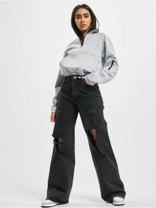 2Y Loose fit jeans Tala zwart