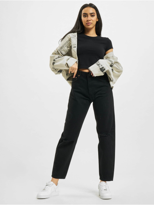 2Y Mom Jeans Nea black