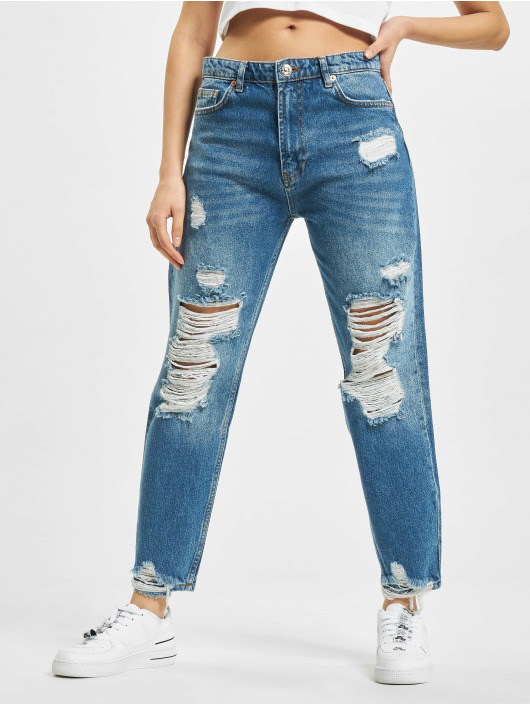 2Y Mom Jeans Sina blauw