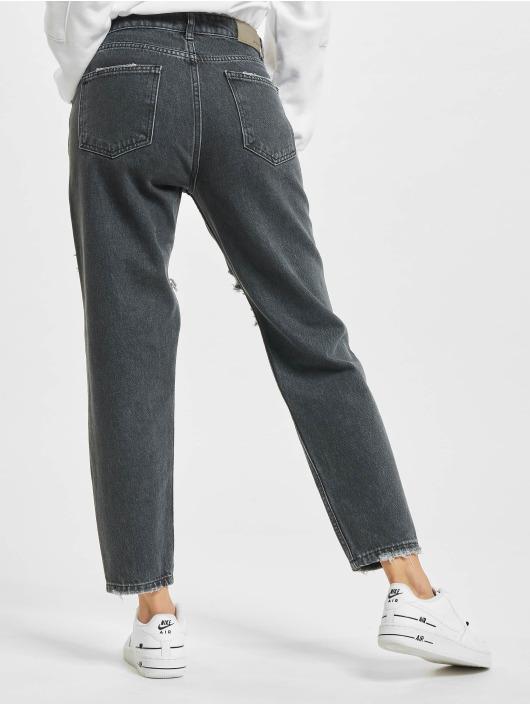 2Y Mom Jeans Melek grau
