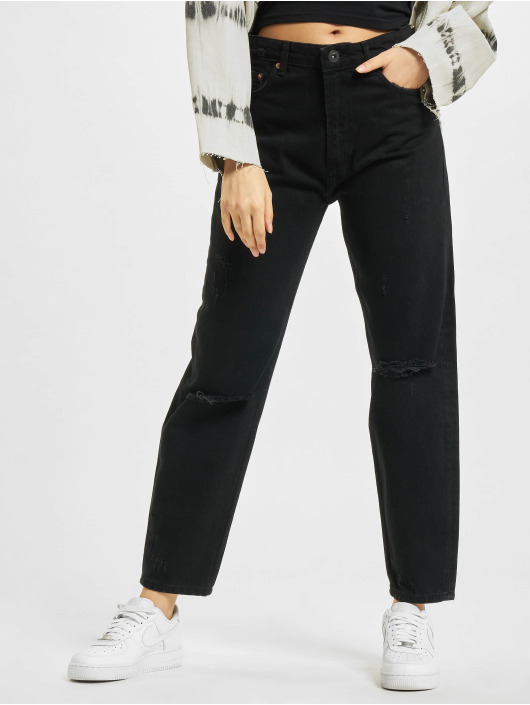 2Y Mom Jeans Nea svart
