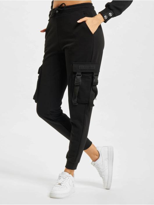 2Y Pantalon cargo Wally noir