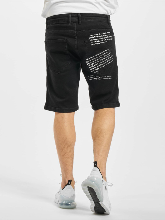 2Y Pantalón cortos Kota negro