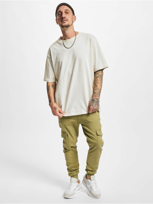2Y Premium Cargo pants Aramis hnědožlutý