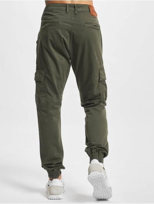 2Y Premium Cargo pants Sinan hnědožlutý