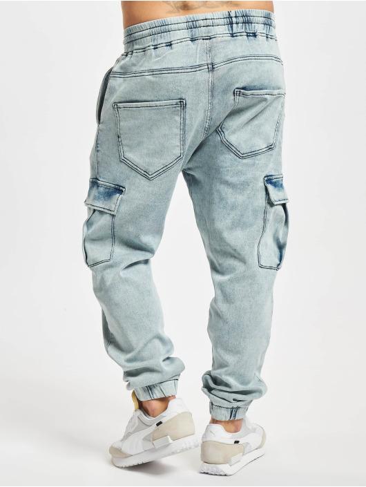 2Y Premium Cargo pants Janis modrý