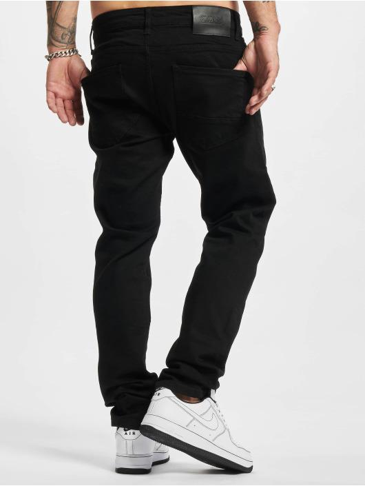 2Y Premium dżinsy przylegające Premium czarny