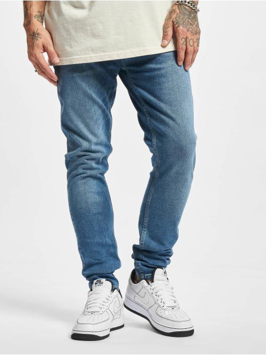 2Y Premium dżinsy przylegające Younes niebieski