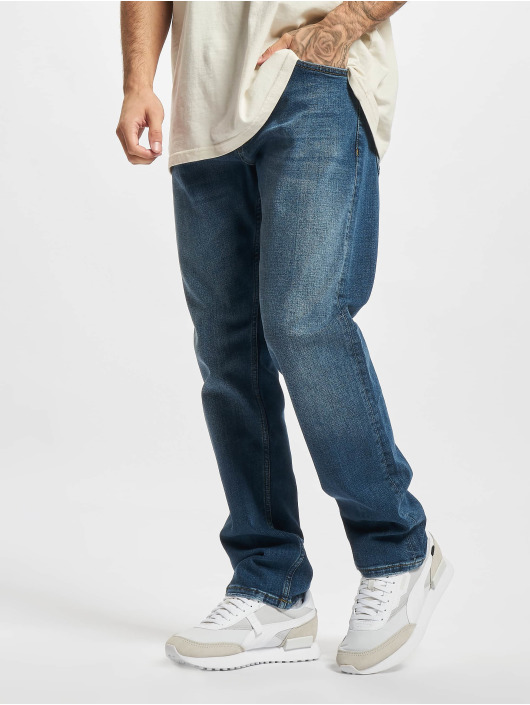 2Y Premium Dżinsy straight fit Premium niebieski