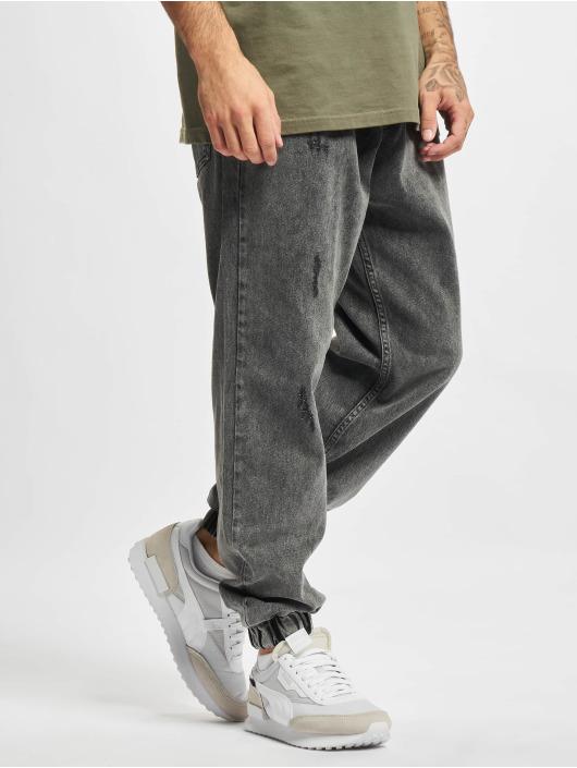 2Y Premium Dżinsy straight fit Denim szary