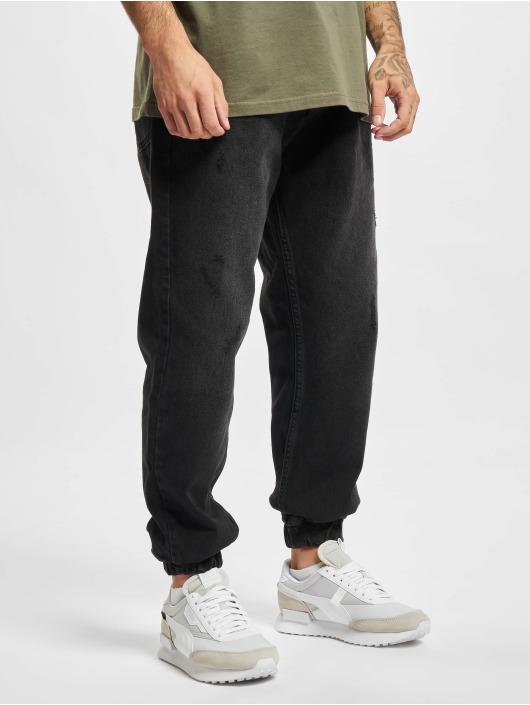 2Y Premium Jogging kalhoty Premium čern