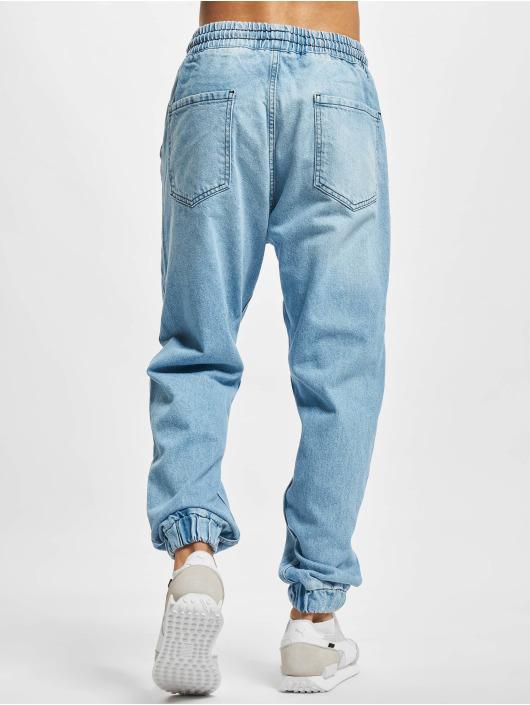 2Y Premium Jogginghose Denim blau