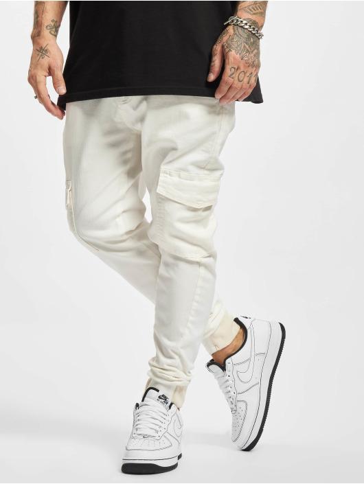 2Y Premium Pantalon cargo Aramis blanc