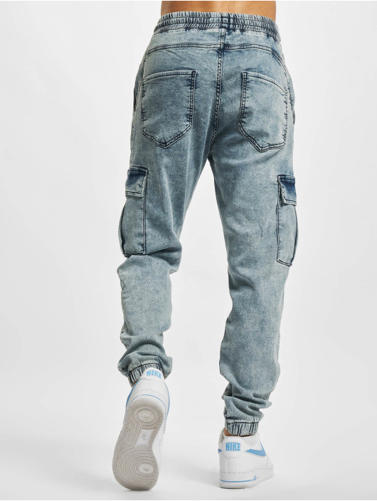 2Y Premium Pantalon cargo Premium bleu
