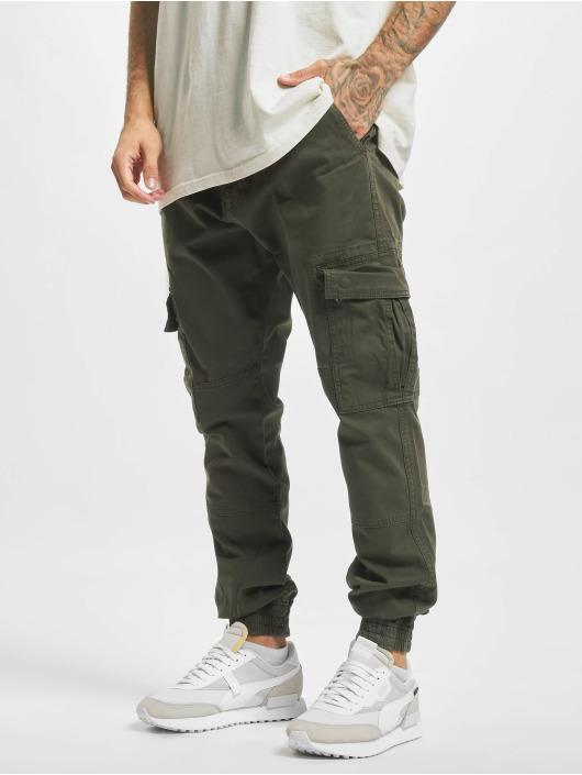 2Y Premium Pantalon cargo Sinan kaki
