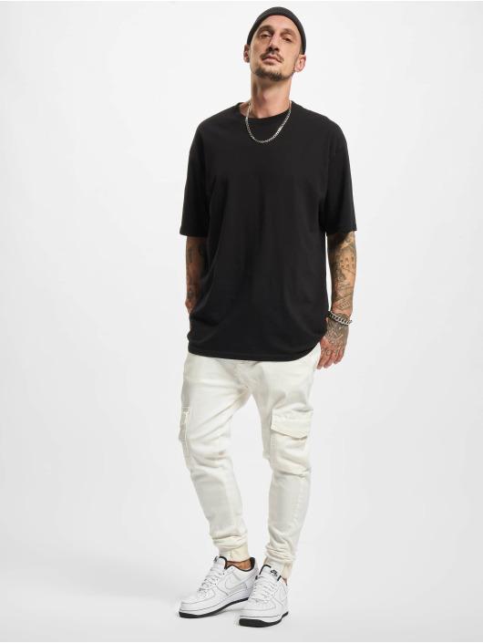 2Y Premium Pantalone Cargo Aramis bianco