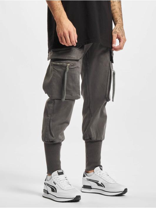 2Y Premium Pantalone Cargo Devran grigio
