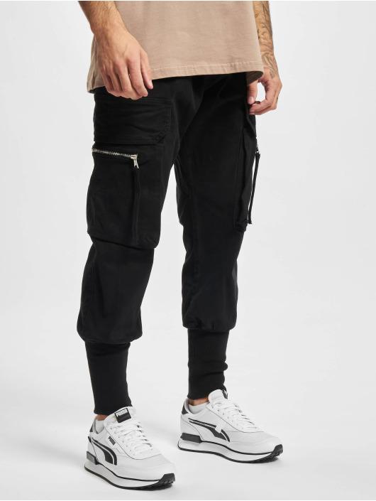2Y Premium Pantalone Cargo Devran nero