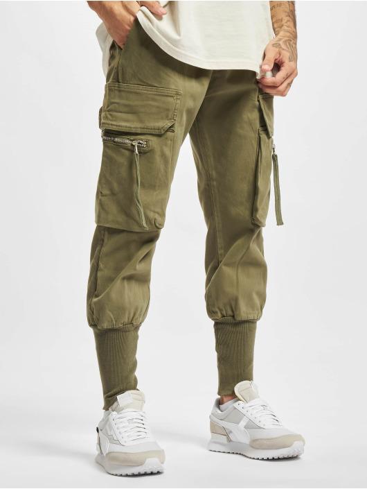 2Y Premium Pantalone Cargo Devran oliva