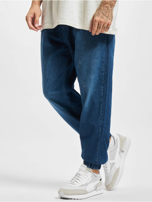 2Y Premium Pantalone ginnico Alif blu