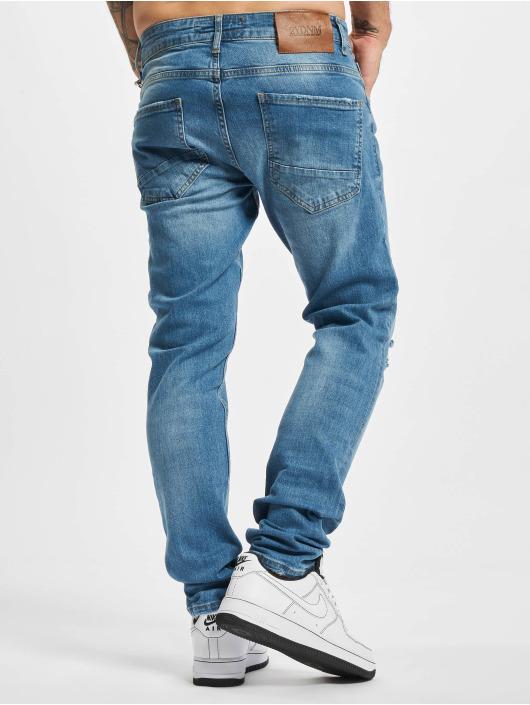 2Y Premium Slim Fit Jeans Malu blå