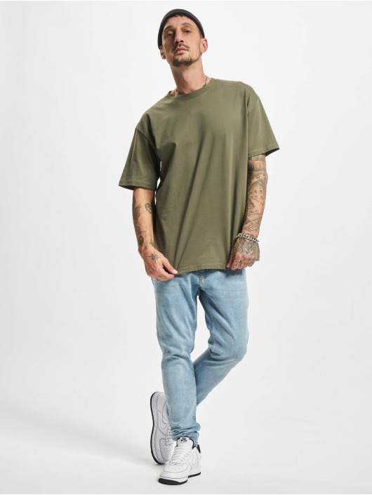 2Y Premium Slim Fit Jeans Wenko blå