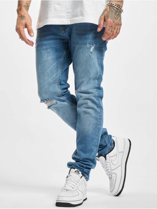 2Y Premium Slim Fit Jeans Malu blauw