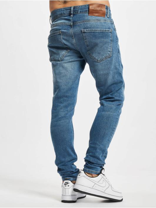 2Y Premium Slim Fit Jeans Younes modrý