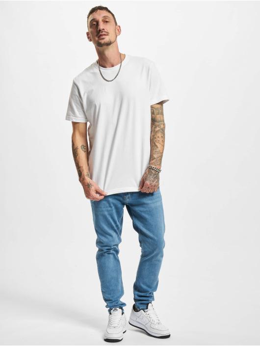 2Y Premium Slim Fit Jeans Yesil modrý